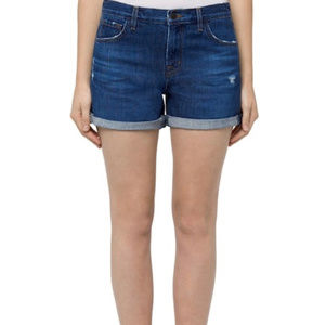 J Brand Cuffed Jean Shorts 27